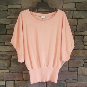 Anthropologie / Postmark Beasley Terry Cloth Top.